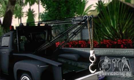 GTA 5 Towtruck для GTA San Andreas вид сзади слева