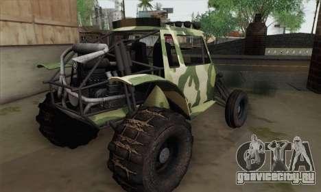 Military Buggy для GTA San Andreas вид слева