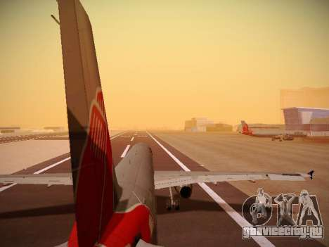 Airbus A321-232 jetBlue Boston Red Sox для GTA San Andreas