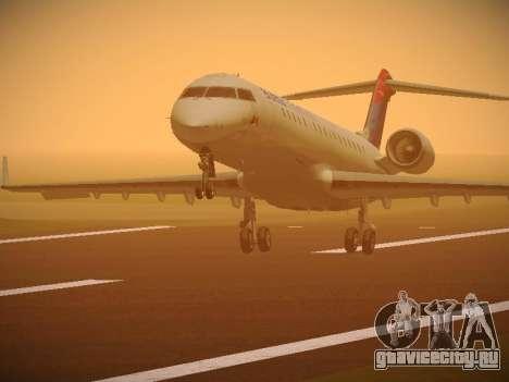 Bombardier CRJ-700 Delta Connection для GTA San Andreas
