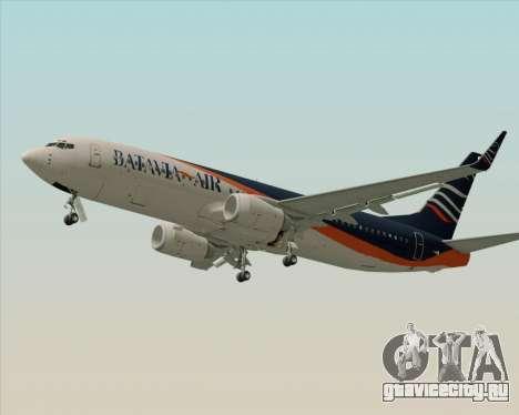 Boeing 737-800 Batavia Air (New Livery) для GTA San Andreas вид справа