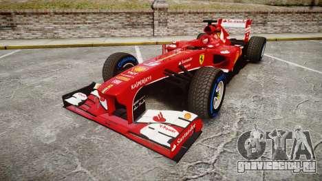 Ferrari F138 v2.0 [RIV] Alonso TFW для GTA 4