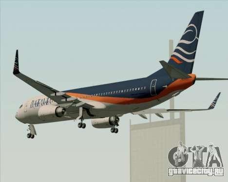 Boeing 737-800 Batavia Air (New Livery) для GTA San Andreas колёса