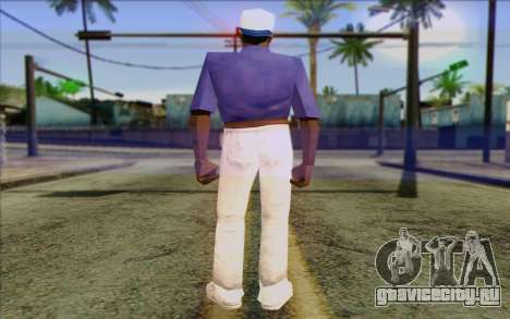Haitian from GTA Vice City Skin 1 для GTA San Andreas второй скриншот