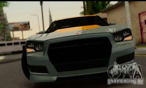 Bravado Buffalo S (IVF) для GTA San Andreas вид сзади слева