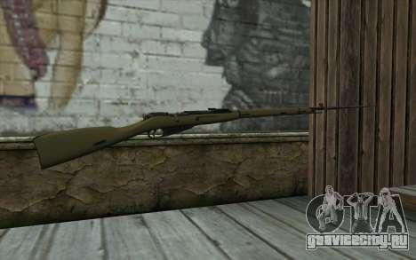 Винтовка Мосина v11 для GTA San Andreas второй скриншот