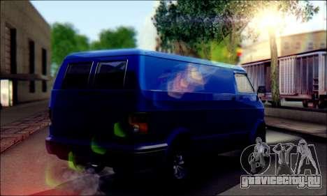 GTA 5 Youga для GTA San Andreas вид сзади слева