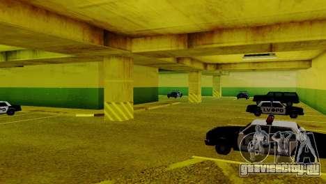 Новые транспортные средства в LVPD для GTA San Andreas четвёртый скриншот