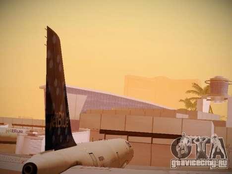 Airbus A321-232 Lets talk about Blue для GTA San Andreas вид сбоку