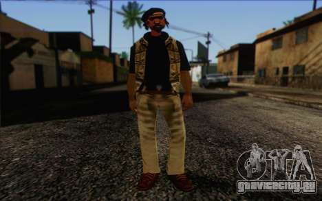 Yardies from GTA Vice City Skin 1 для GTA San Andreas