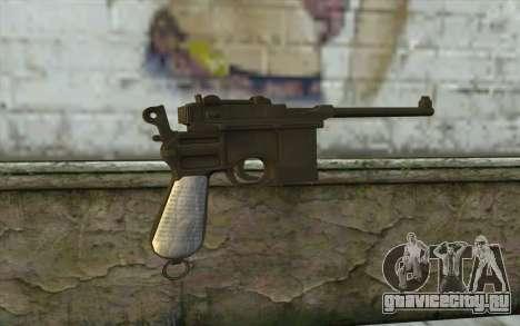 Mauser C96 v1 для GTA San Andreas второй скриншот