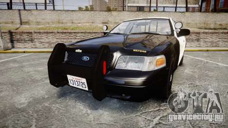 Ford Crown Victoria LASD [ELS] Slicktop для GTA 4