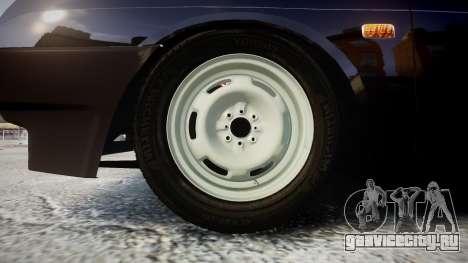 ВАЗ-2109 сток для GTA 4 вид сзади