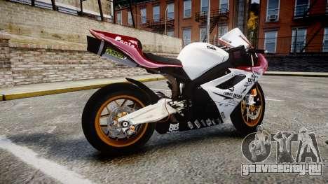 Daytona 675R 2011 для GTA 4 вид слева