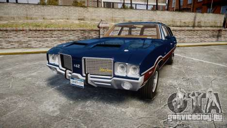Oldsmobile Vista Cruiser 1972 Rims2 Tree4 для GTA 4
