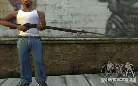 Винтовка Мосина v10 для GTA San Andreas третий скриншот