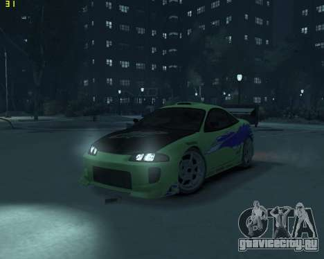 Mitsubishi Eclipse from Fast and Furious для GTA 4