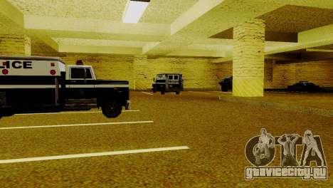 Новые транспортные средства в LSPD для GTA San Andreas шестой скриншот