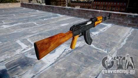 Автомат Калашникова для GTA 4 второй скриншот