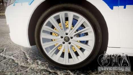 Peugeot 508 Republic of Srpska [ELS] для GTA 4 вид сзади