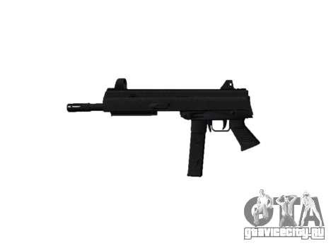Пистолет-пулемет SMT40 no butt icon2 для GTA 4 третий скриншот