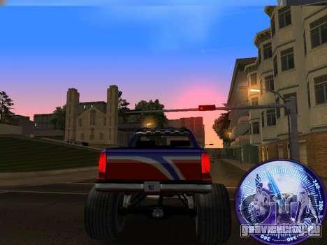 Спидометр HITMAN для GTA San Andreas четвёртый скриншот