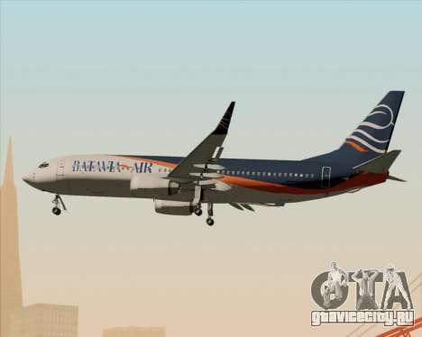 Boeing 737-800 Batavia Air (New Livery) для GTA San Andreas вид сбоку