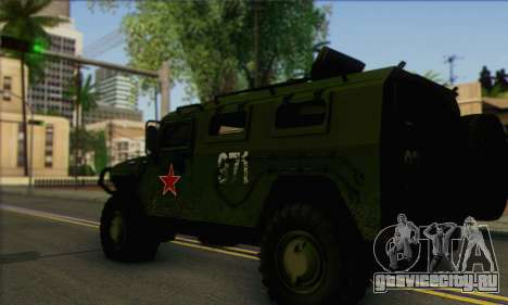 ГАЗ 2975 Тигр для GTA San Andreas вид слева