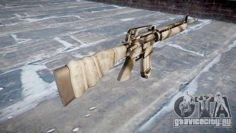 Винтовка M16A2 для GTA 4 второй скриншот