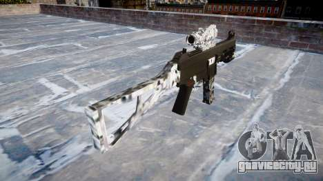 Пистолет-пулемёт UMP45 Diamond для GTA 4 второй скриншот