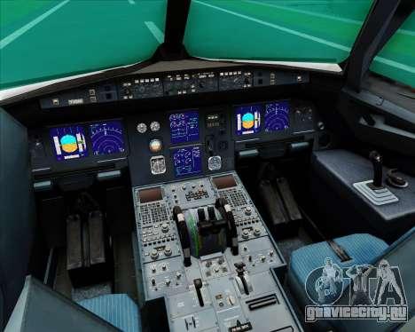 Airbus A321-200 S7 - Siberia Airlines для GTA San Andreas салон