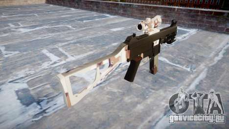 Пистолет-пулемёт UMP45 Choco для GTA 4 второй скриншот