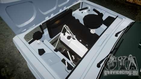 ВАЗ-2107 Avtosh Style для GTA 4 вид изнутри