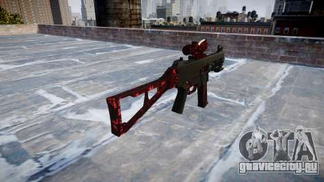 Пистолет-пулемёт UMP45 Art of War для GTA 4 второй скриншот
