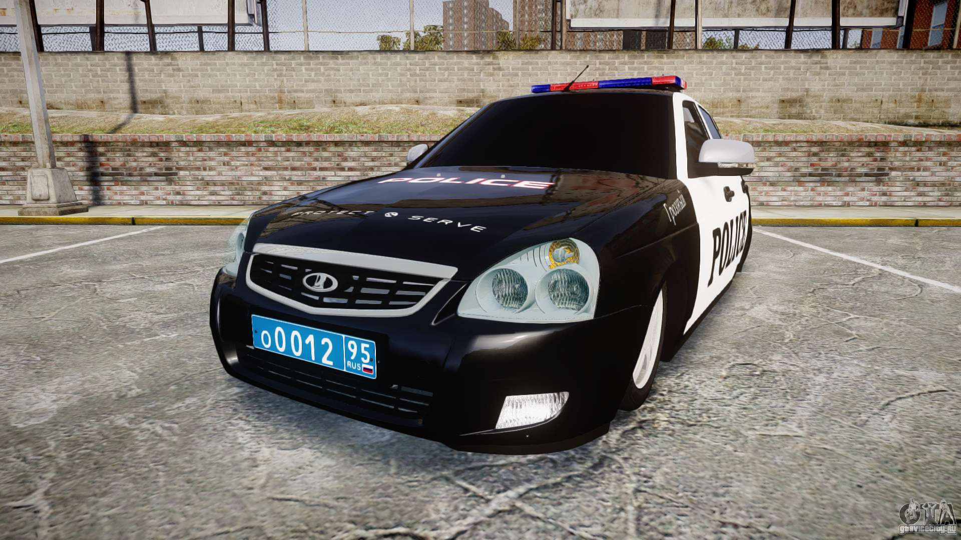 Ваз 2110 дпс (полиция) для gta 4 русские машины для gta iv.