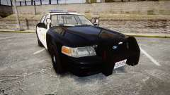 Ford Crown Victoria LASD [ELS] Marked для GTA 4