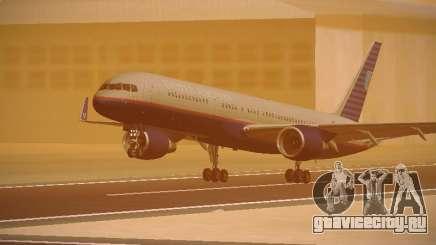 Boeing 757-224 United Airlines для GTA San Andreas