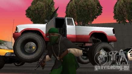 Новые текстуры колёс Monster для GTA San Andreas