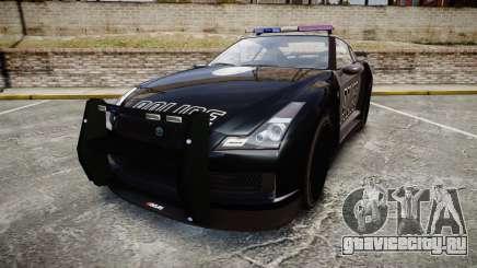 GTA V Annis Elegy RH8 Police [ELS] для GTA 4