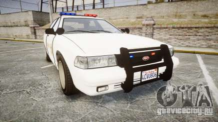 GTA V Vapid Cruiser LSS White [ELS] для GTA 4