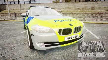 BMW 530d F11 Metropolitan Police [ELS] для GTA 4