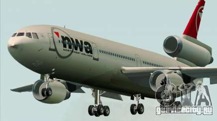 McDonnell Douglas DC-10-30 Northwest Airlines для GTA San Andreas