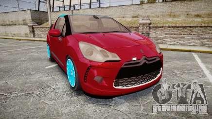 Citroen DS3 Convertible для GTA 4