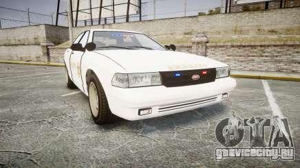 GTA V Vapid Cruiser LSS White [ELS] Slicktop для GTA 4