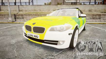 BMW 530d F11 Ambulance [ELS] для GTA 4