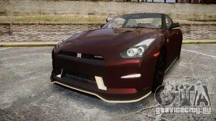 Nissan GT-R R35 Nismo для GTA 4
