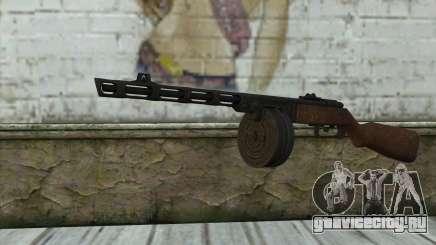 PPSH-41 v2 для GTA San Andreas