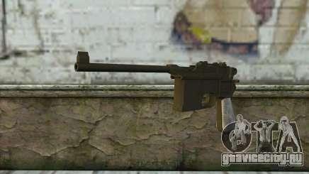 Mauser C96 v1 для GTA San Andreas