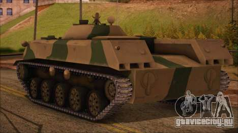 BMD-1 from ArmA Armed Assault Камуфляжный для GTA San Andreas вид слева