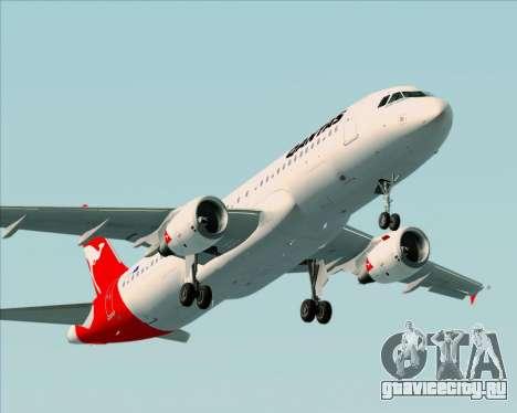 Airbus A320-200 Qantas для GTA San Andreas двигатель
